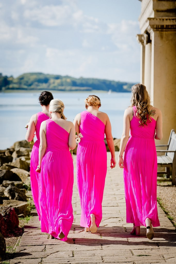 normanton wedding bridesmaids